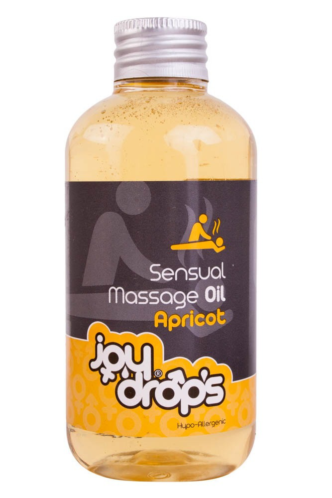 Joydrops Sensual Massage Oil masszázsolaj (barack) - 250 ml